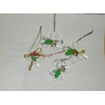 Aplique Miniatura Adorno Navidad Porcelana Fria.