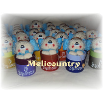 Muñecos Country Souvenir Angel Comunion-bautismo
