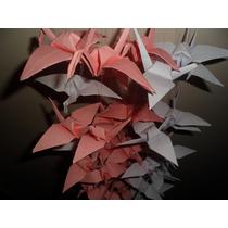 10 Grullas En Origami Decoracion Souvenir Cortina Novedoso