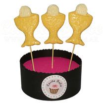 Chupetines De Chocolate Caliz Con Hostia Souvenir Comunion!!