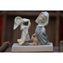 Souvenir De Comunion -monjitas En Porcelana Horneada