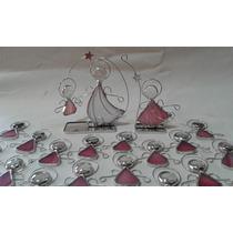 Angelitos Vitraux Souvenirs Bautismo Comunion Nacimiento