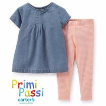 Conjunto Camisa Y Pantalon - Carter´s - Nena