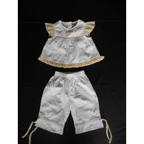 Set X 2 (chiara): Blusa + Pantalón. Talle: 12 Meses. (usa).