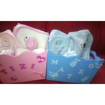 Ajuar De Bebe En Caja Para Nacimiento Baby Shower