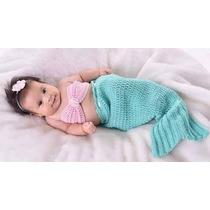 Conjuntos Tejidos A Crochet De Bebés Para Sesiones De Foto