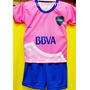 Camiseta Boca Rosa Bebe Beba Nena Body Enterito Remera River