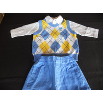 Set X 3 Piezas (the Childrens Place) Talle:6 - 9 Meses. Usa