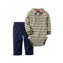 Conjunto Carters Bebe Niño Body Pantalon Algodón Importado