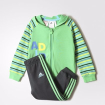 Conjunto Adidas Bebé Jogger Collegiat. Original Importado