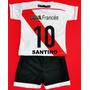 Camiseta River Con Nombre O Frase + Short - Conjunto Copa