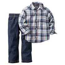 Set 2 Piezas Carters Camisa Pantalon Importados Usa