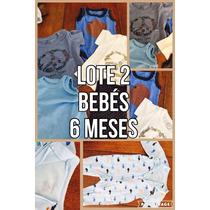 Lote #2 Ropa Bebe - 6 Meses (little Akiabara; Cheeky, Paula)