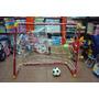 Arco De Futbol Infantil Pvc + Pelota De Regalo