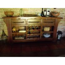 Mesa de arrime rusticas muebles antiguos mercadolibre for Muebles antiguos argentina