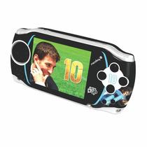 Consola Portátil Microboy 10 Messi Level Up 150 Juegos 6hs