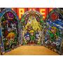 Tríptico Vitraux Madera - The Legend Of Zelda