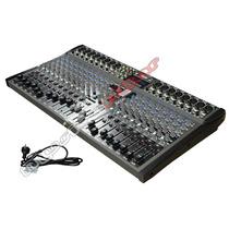 Consola Mixer Mesa Trab Moon Mc20usb 20 Canales Musica Pilar