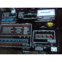 Combo Consola Altech 8 Canales 500w + 2 Columnas Doble 15