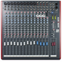 Consola Analoga Allen & Heath Zed-18