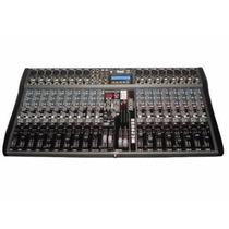 Consola Mixer Moon Mc20 Usb 20 Canales Audiomasmusica