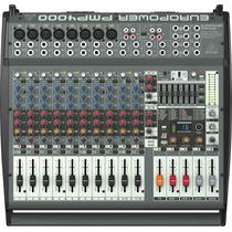 Consola Potenciada Behringer Pmp4000 16 Canales
