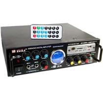 Amplificador Consola Potenciada 200w Usb Rca Fm - Alma Store