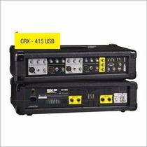 Skp Crx415 Usb Consola Mixer Potenciada 4 Canales Usb Efecto