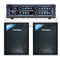 Consola Wenstone Ma4100e Mp3 Usb + Cajas Tr12100 12