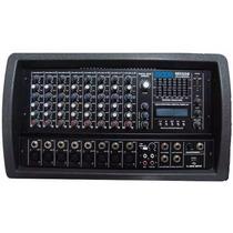 Consola Potenciada Mixer Moon M5508 8 Canales C/usb