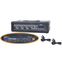 Blg Mc4300b Mixer Potenciado 4 Canales 250w Usb Cabezal