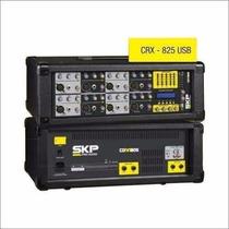Consola Potenciada Skp Crx-825 Usb 8 Canales