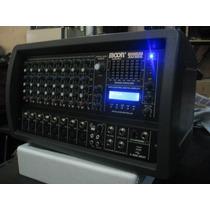 Consola Potenciada Mixer Moon 8/c M5508 Usb Musica Pilar