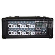 Consola Mixer Potenciada 6 Canales Moon M610usb Efectos Usb