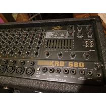 Consola Potenciada Peavey Xrd 680 Made In Usa Año `93. 220v