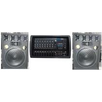 2 Bafles 15 500w + Consola Moon 5508 + Tripode Soporte$9990