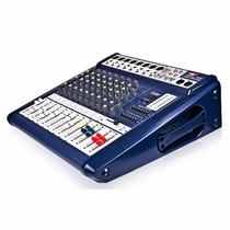 Consola Mescladora Potenciada Proco 8 Canales Sb8300fx