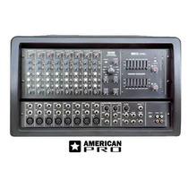 Oferta! Cabezal Potenciado M-612 American Pro 8 Canales
