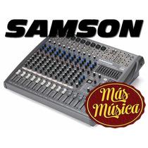 Samson L1200 Mixer 12 Canales, 10xlr/linea