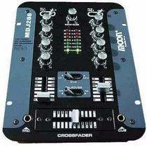 Mixer Moon Mdj 206 - Consola De Dj 2 Canales