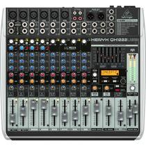 Behringer Qx1222 Usb Mixer 12 Canales Efectos 4 Compresores