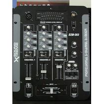 Consola Mezcladora 5 Canales 3 Buses Para Disk Jockey