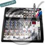 Consola Mixer Compacta 12 Canales Pro Soundxtreme Sxm-1275