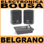 Samson Xp308i Combo Consola Y Bafles Portatil 300w Belgrano