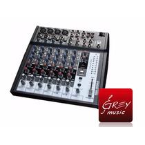 Consola Mixer De 8 Canales Moon Mc 802a