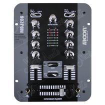Mixer Dj Moon Mdj206 2 Canales Consola Mezcladora