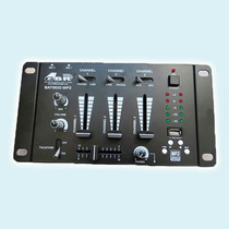 Mixer Dj Gbr Bat 1900 Mp3 Usb Consola Mezclador Gtia 2 Años