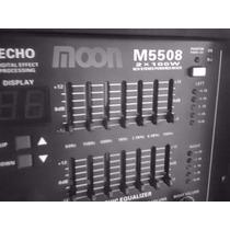 Consola Mixer Potenciado Moon M5508 8 Canales 2x100w Cabezal