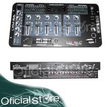 Consola Dj 4 Canales Luxellpro Lxm166 Con Ecualizador Mixer