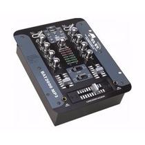 Consola Audio Mezcladora Gbr Mixer Bat 2000 Mp3 Usb